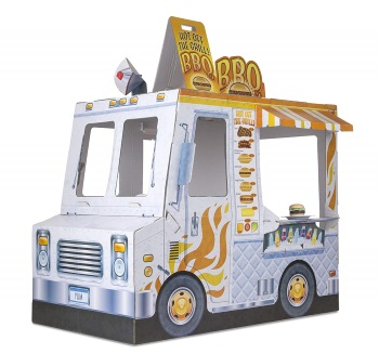 Melissa and Doug Cardboard Food Truck