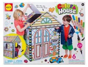 Cardboard Color and Playhouse