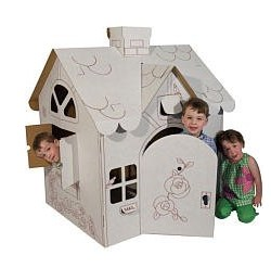 Corrugated Play House