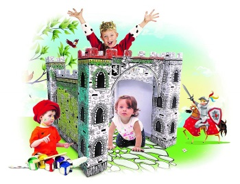Spiritoy My Little Castle Cardboard Playhouse